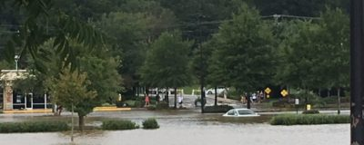Flooding in Chapel Hill